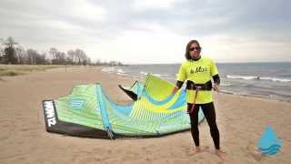 2016 Liquid Force WOW Kiteboarding Kite Video Review