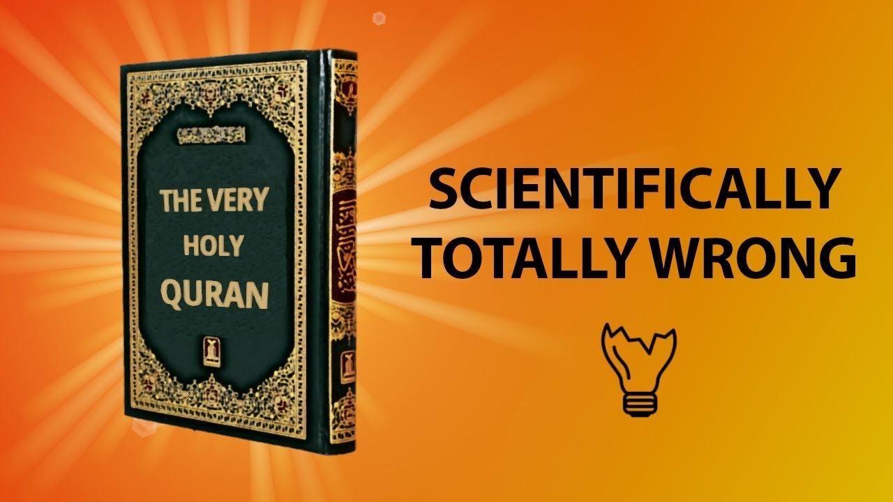 43 Scientific Mistakes in the Quran