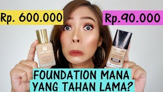 PERANG MAKEUP: ESTEE LAUDER FOUNDATION 600RIBU VS WET N WILD FOUNDATION 90RIBU