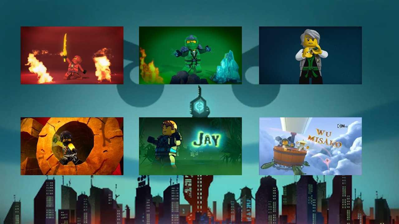 Lego ninjago all intros season 1 6 old youtube - Lego ninjago 6 ...