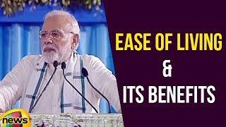 PM Narendra Modi Talks About Ease Of Living & Its Benefits | Mango News