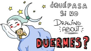 ¿QUÉ PASA SI NO DUERMES? | Drawing About