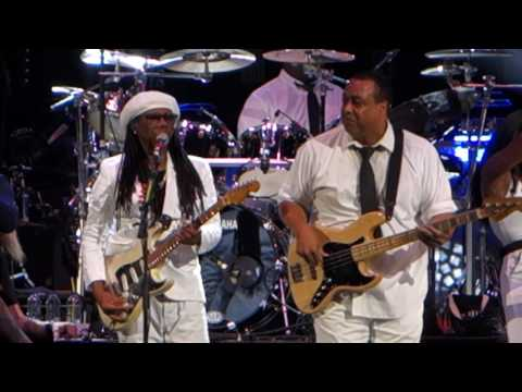 CHIC with Nile Rodgers - Good Times / Rapper's Delight - Saddledome - Calgary, AB - Aug 30, 2016