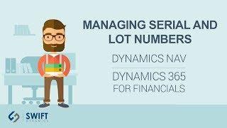 Managing Serial and Lot Numbers in Dynamics NAV