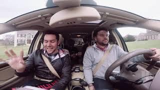 American Bollywood singer shocks Uber driver! | Jeffrey Iqbal