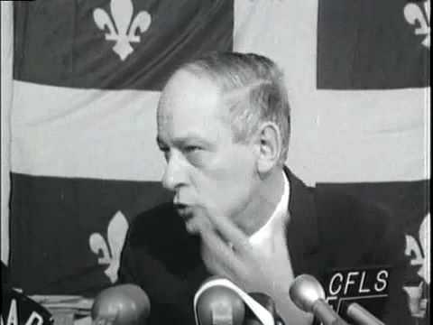 Discours de René Lévesque-Congrès du PQ 1968
