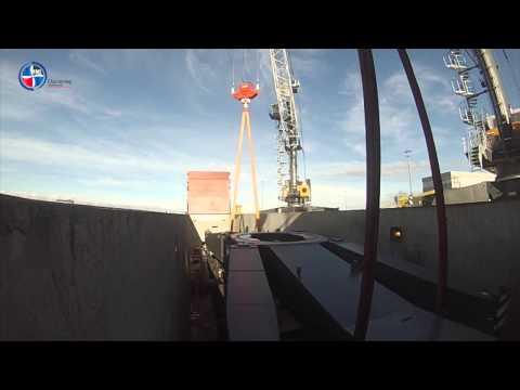 Loading of Crane in Rostock
