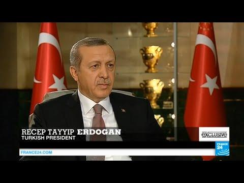 Exclusive interview with Turkey's president Recep Tayyip Erdogan