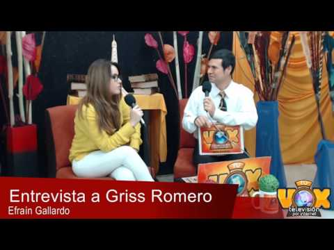 Griss Romero en exclusiva para Tu Vox Televisión