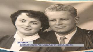 Maurepas : 60 ans de mariage pour Jacqueline et Lucien Raciborski