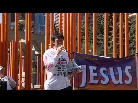 Marco Carbone-The two different Loves!-Street Church - Calgary, May 1, 2016