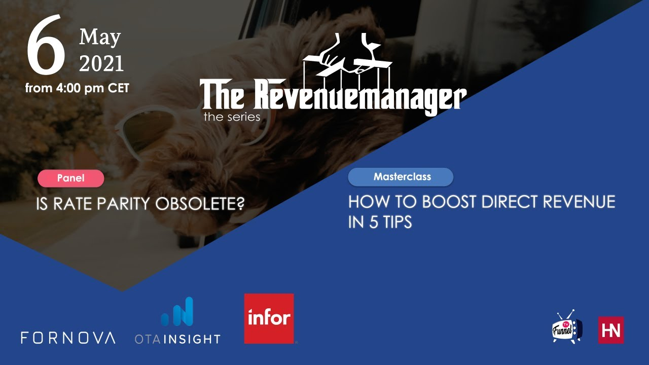 The Revenuemanager series - episode #3
