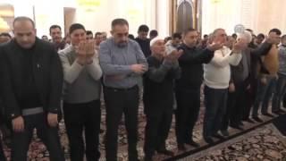 """22.01.2016-cı il .""""Heydər məscidi""""ndə qılınan cumə namazı"""