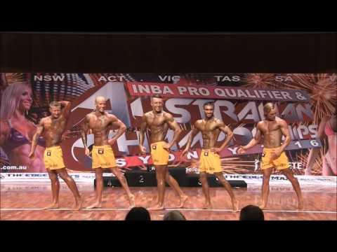 Mr Organic Dale Webb INBA Fitness Pro Qualifier Sydney 2016