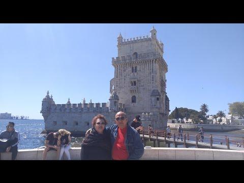 Las Vacaciones Europea de Julio & Lidilia en Lisbon Portugal