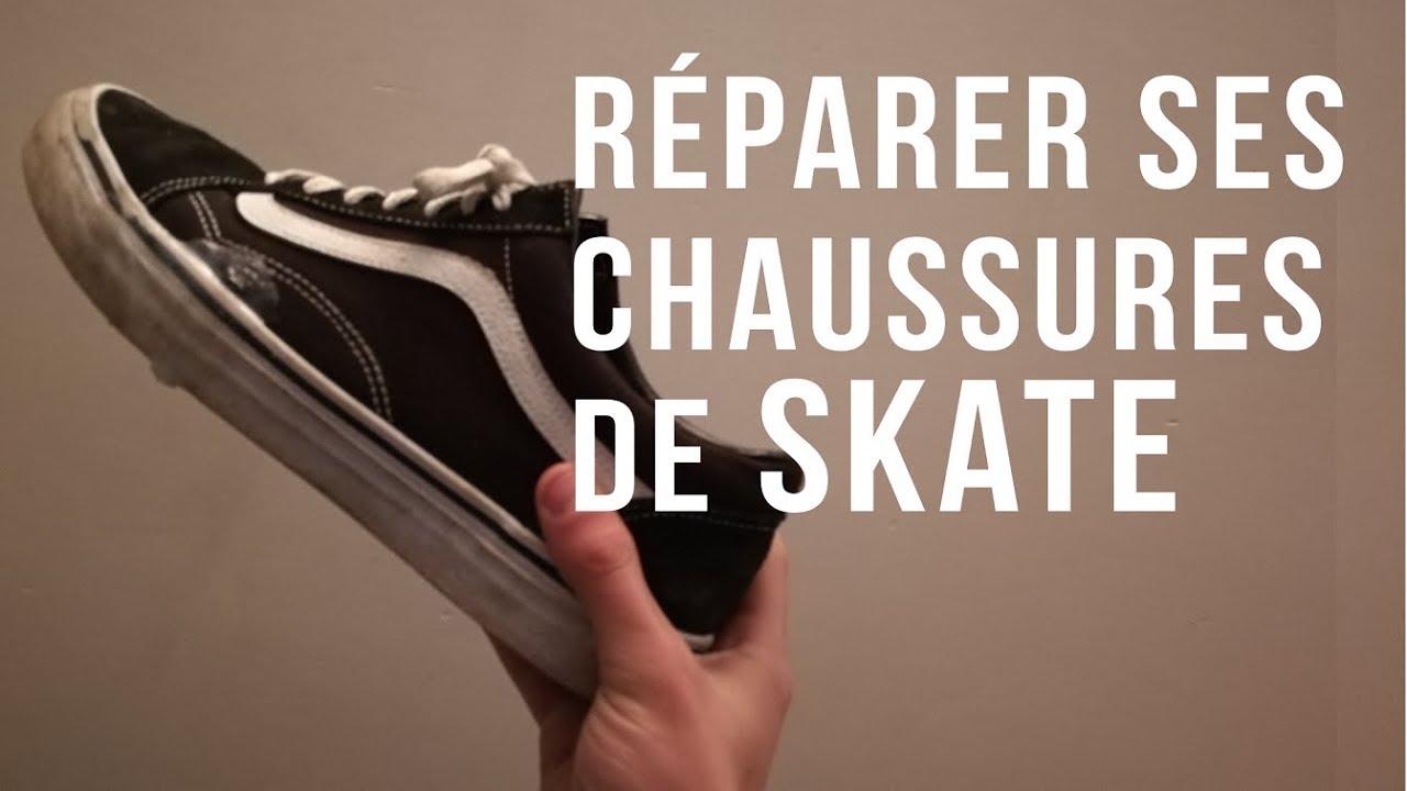 Comment réparer ses chaussures de skate | Shoe goo