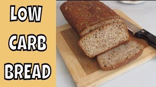 Low Carb Almond Meal Seed Bread ~ Gluten Free