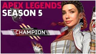 APEX LEGENDS UPDATE   fists-only win w fans! (Apex Legends Season 5)