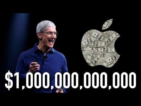 Apple стоит $1.000.000.000.000 (триллион) - особая распаковка...