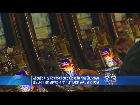 Atlantic City Casinos Could Close During Shutdown