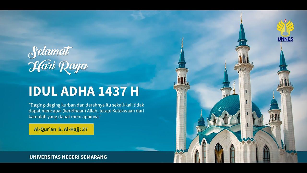Tutorial Photoshop Desain Banner Untuk Ucapan Idul Adha Youtube