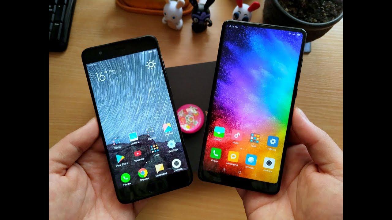 MI NOTE 3 vs  MI MIX 2 - Which is the BEST XIAOMI PHONE?