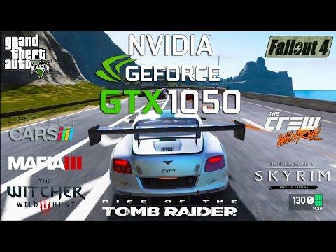 NVIDIA GTX 1050 Test in 8 Games (i5 4690k)