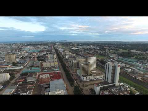 Lusaka Aerial VIdeo