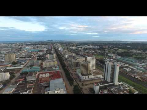 Lusaka Aerial VIdeo