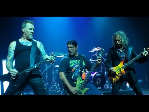 METALLICA - Moth Into Flame New Song Live at Webster Hall, NYC September 27, 2016