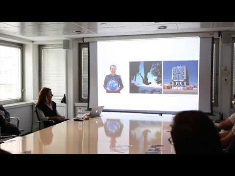 Ana Nance Photography Color Wheel Presentation at DDB Advertising Agency in Madrid, Spain.