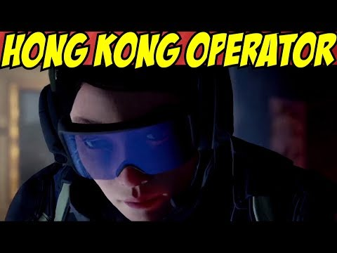 Rainbow Six Siege Hong Kong Operator Reveal Operation Blood Orchid Female DLC Season 3 New Operator