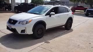 4x4works.com 2017 Subaru CrossTrek Custom Suspension Lift Wheels Tire Dallas Plano McKinney