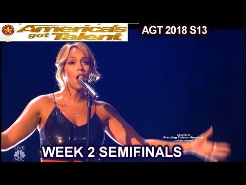 "Glennis Grace sings This Woman's Work"" BEST PERFORMANCE  Semi-Finals 2 America's Got Talent 2018 AGT"