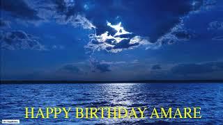 Amare  Moon La Luna - Happy Birthday