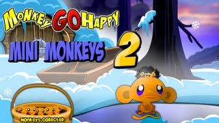 Monkey GO Happy Mini Monkeys 2 Walkthrough HD