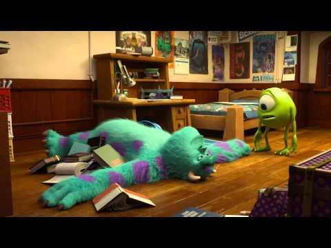 DIE MONSTER UNI - Filmclip - Mike Und Sully Lernen Sich Kennen - Disney / Pixar