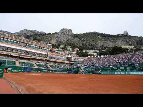 Time Lapse Monte Carlo Masters Wawrinka v Raonic
