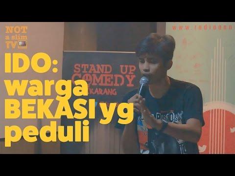 Standup Comedy gaya bercandaan org  di tongkrongan - Ido dari Bekasi