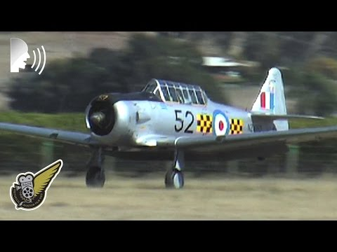 Mighty North American T6- Texan Display Routine