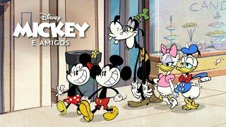 Como você vai celebrar a amizade?   Mickey e Amigos