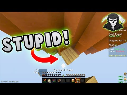The Most STUPID Wins I've Ever Had... ( Hypixel Skywars )