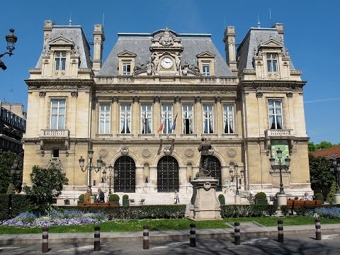 Neuilly-sur-Seine, city of birth for Marine le Pen, beautiful suburb of Paris