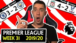 Premier League 19/20 Week 31 Score Predictions & Preview - Liverpool To Win Title On Thursday ?!