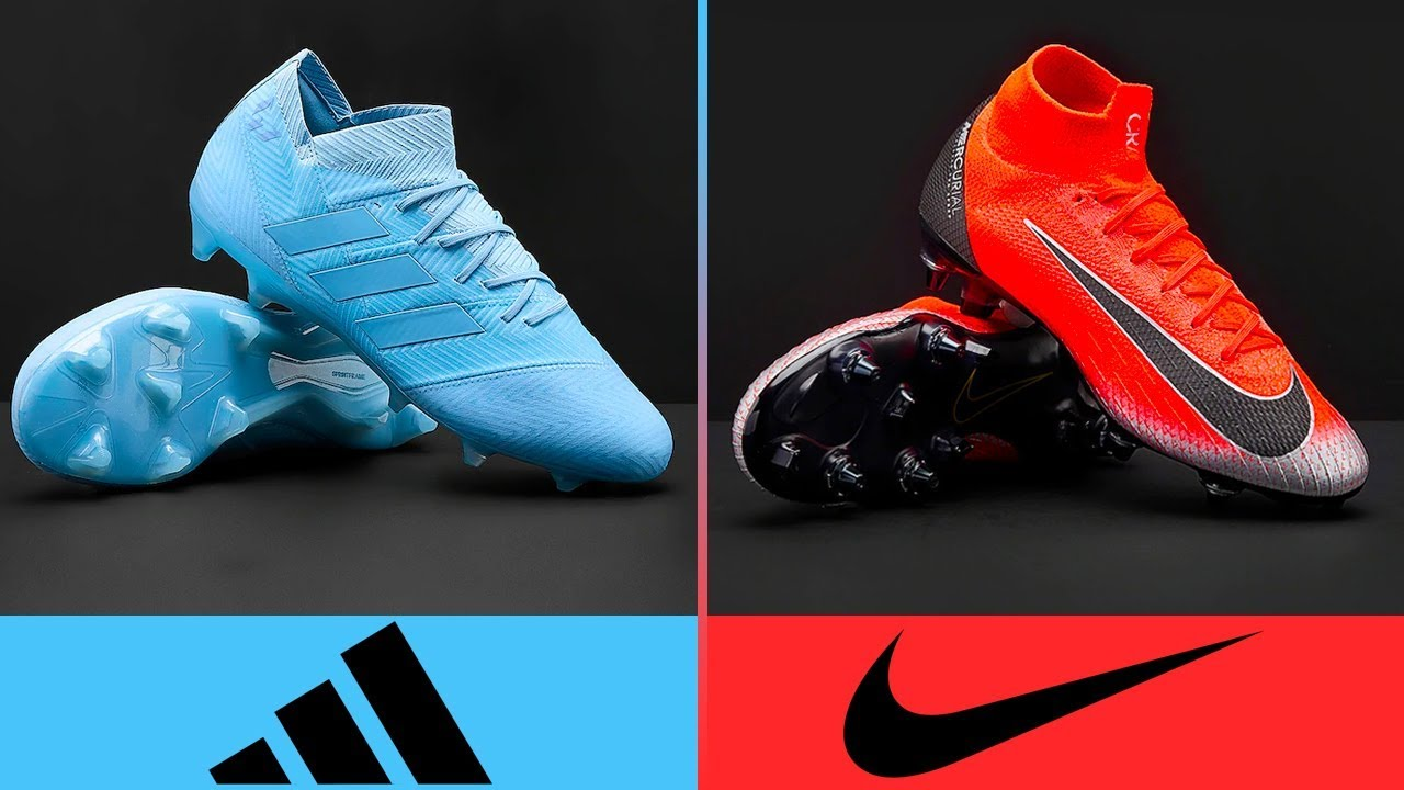 Arroyo odio Uva  Adidas vs Nike - Who Has The Best Football Boots? II 2018 - 19 II - YouTube