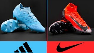 Adidas vs Nike - Who Has The Best Football Boots? II 2018 - 19 II