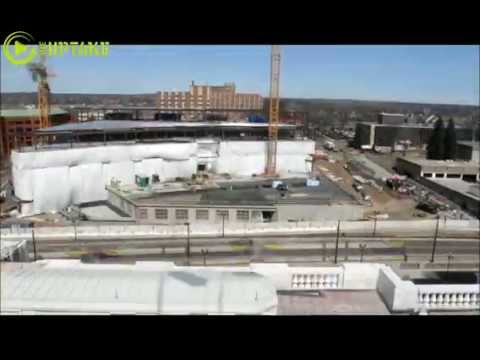 Time Lapse Video - Constructing New MN Senate Office Building