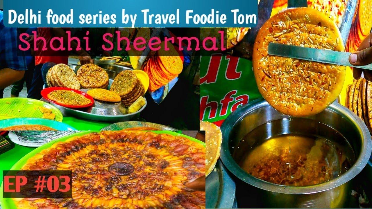 Download Famous Haji Nadeem Shahi Sheermal/Dry fruit Pizza/Delhi Street Food/100% Veg/Delhi food series