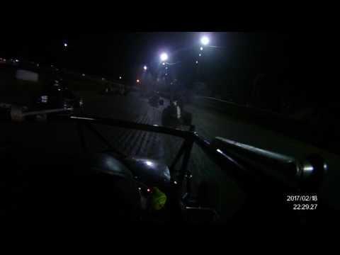 A-class winged  sprint B main @ Superbowl Speedway onboard Taco Casa 19j w/Kieth Martin 0