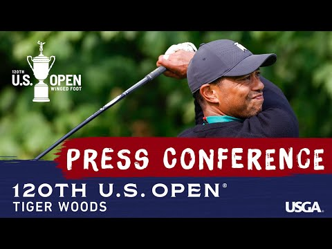 2020 U.S. Open: Tiger Woods Pre-Championship Press Conference